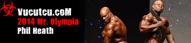 2014 Mr. Olympia Phil Heath