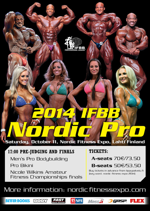 2014 Nordic Pro Poster