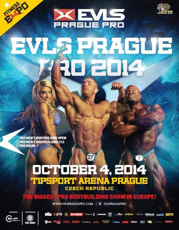 2014 Ifbb Prague Pro Poster