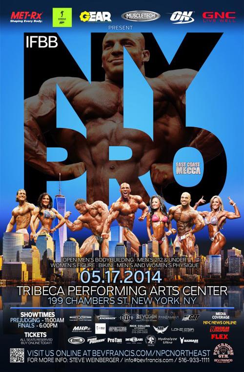 2014 New York Pro Poster
