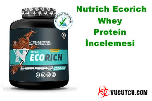 Nutrich Ecorich Whey Protein Tozu Değerlendirme